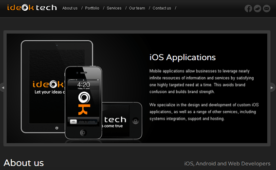 IdeokTech Offer - Desarrollo de aplicaciones moviles
