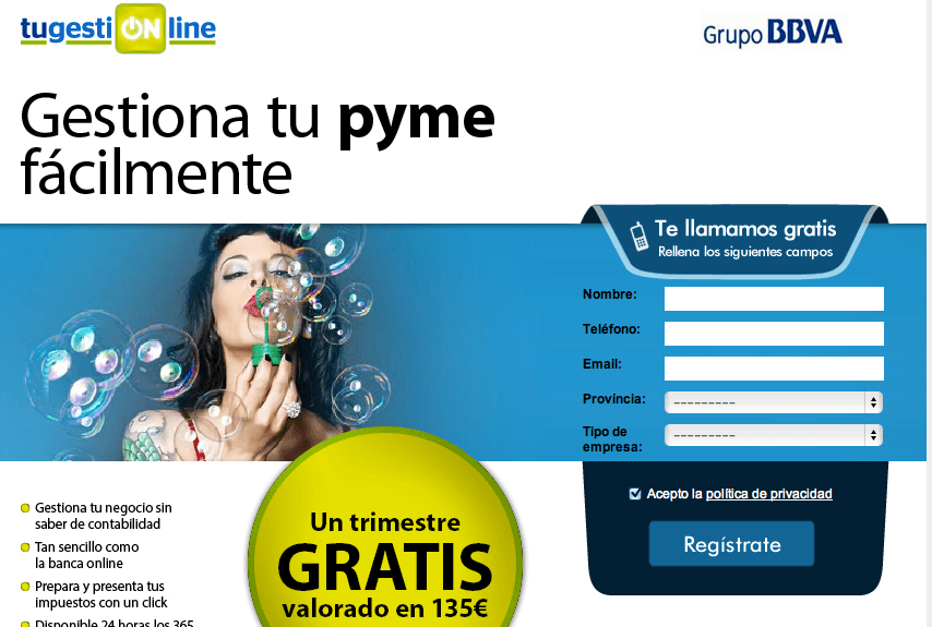 TuGestionOnLine Offer! - Consigue 3 meses gratis de gestión contable, fiscal y laborable online!