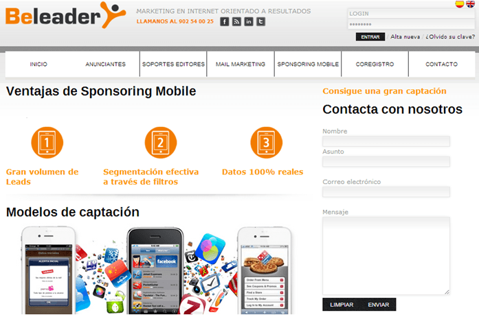 Beleader Offer - Monetiza tus apps para dispositivos moviles