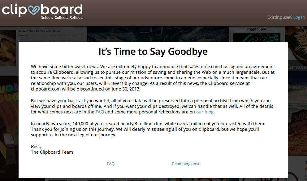 SalesForce compra ClipBoard