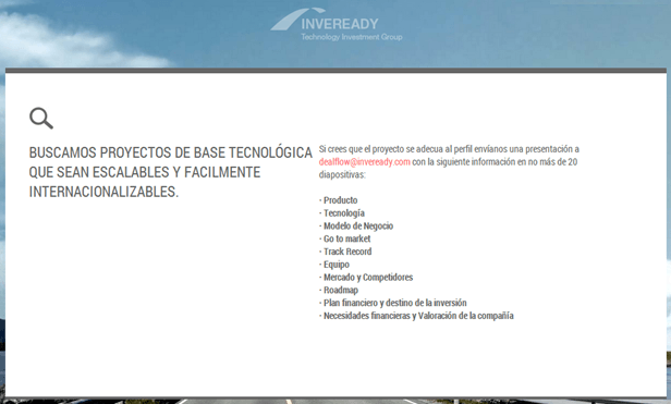 Inversiones en Startups de Inveready