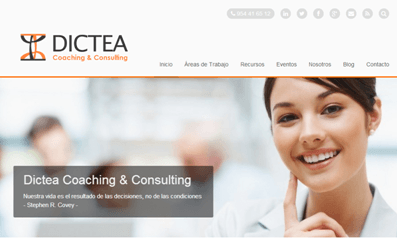 Dictea Coaching&Consulting Site! - Coaching, Mentoring y Desarrollo Personal