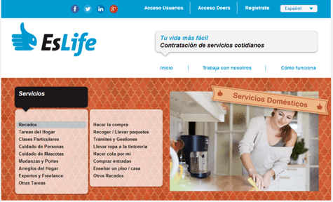 EsLife Offer - Ofertas para trabajar en Madrid y Valencia
