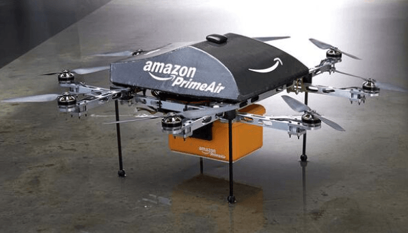 Amazon entregara paquetes en 30 minutos por el aire con Amazon prime Air