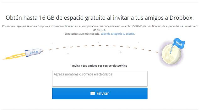 Ejemplos Growth Hacking - Dropbox