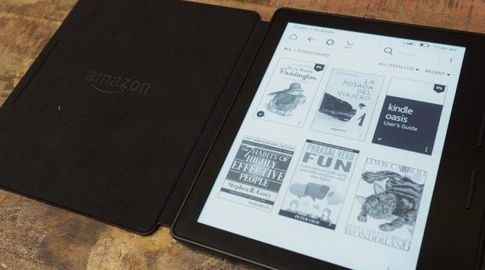 Kindle Oasis, el ereader más caro de Amazon