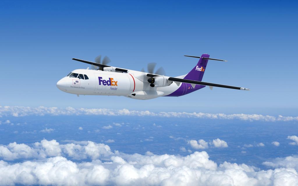 ATR 72-600F Rendering with background