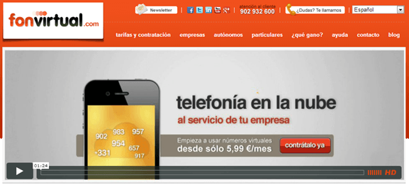 FonVirtual Offer - Reduce la factura telefonica