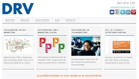Experiencia DRV - Servicios de Marketing Digital