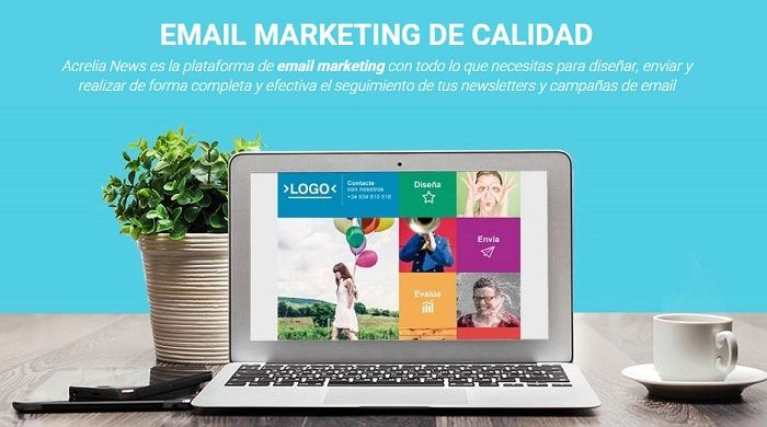 AcreliaNews ayuda a realizar campañas de email marketing